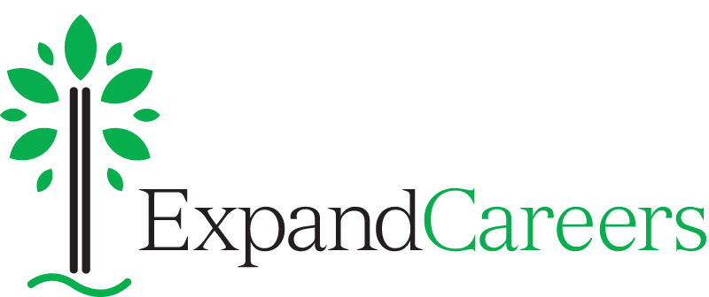 Expand Careers logo with tagline
